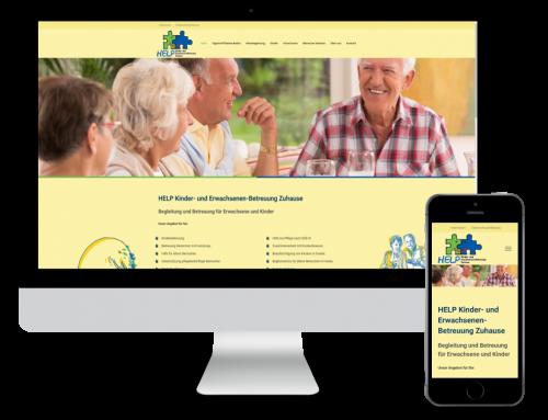 HELP Kinder- und Erwachsenen-Betreuung Zuhause