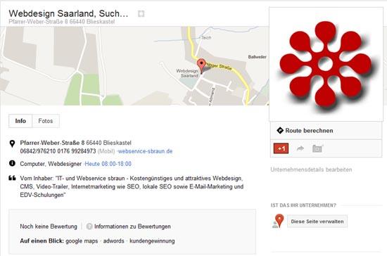 Lokale Google+-Seiten